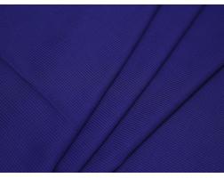 Рубашечная ткань хлопковая синяя в белую клетку