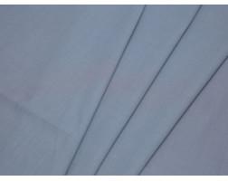 Рубашечная ткань хлопковая серая в рубчик