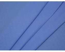 Рубашечная ткань хлопковая голубая в рубчик