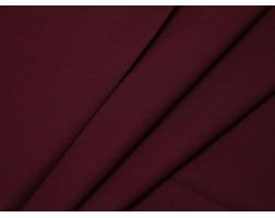 Рубашечная ткань хлопковая бордовая в рубчик
