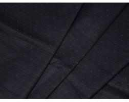Джинсовая ткань темно-синий принт мелкие цветы