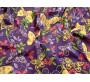 """Хлопок набивной """"Бабочки"""" В6В-00019"""