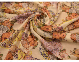 """Блузочная """"Цветы с узорами"""" В6В-00020"""