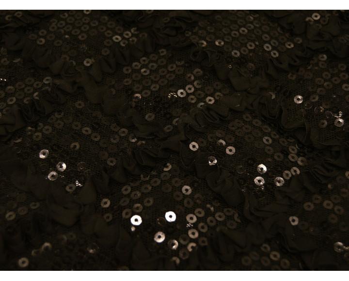 Сетка с пайетками А5Г-00013
