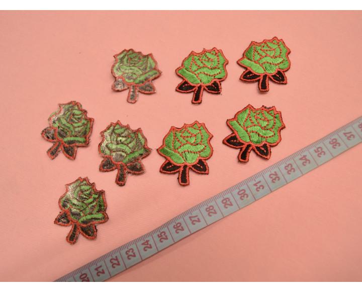 Розы зеленые 04